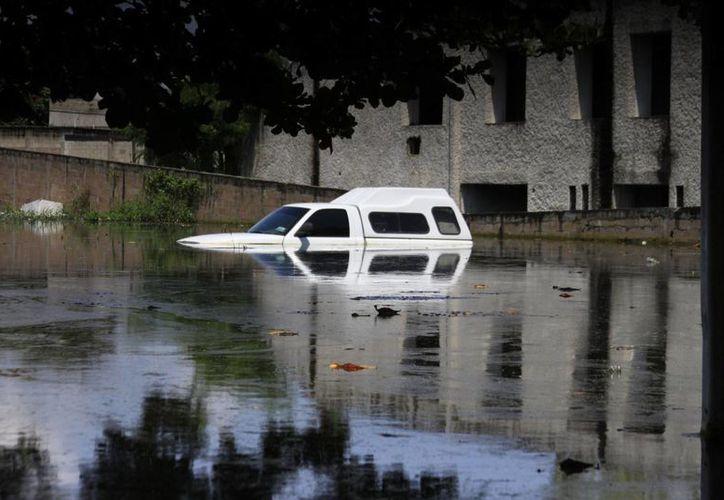El agua podría alcanzar los dos metros de altura dadas las condiciones del terreno. (Archivo/SIPSE)