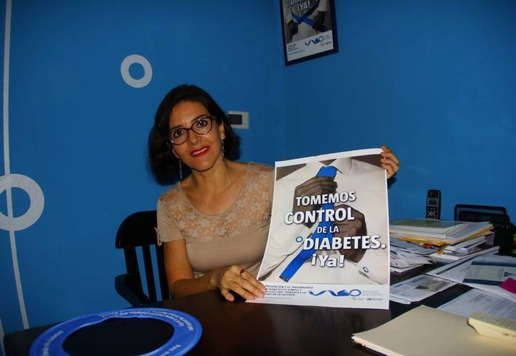 Sara del Carmen Pimentel Solís es presidenta de la Asociación Mexicana de Diabetes en el Sureste. (Juan Albornoz/SIPSE)