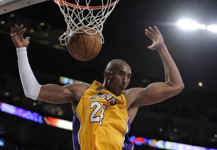 A sus 37 años Kobe Bryant se retira como el tercer máximo anotador en la historia de la NBA. (Archivo AP)