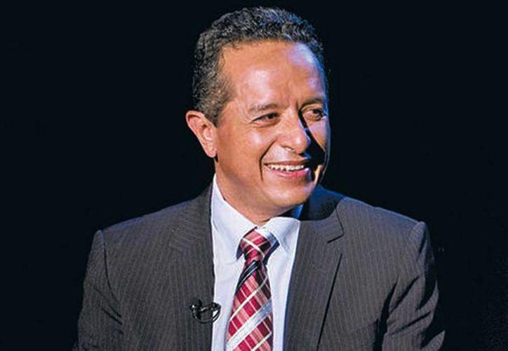 El nuevo gobernador de Quintana Roo, Carlos Joaquín González, aseguró que Borge le agradeció el buen trato que recibió durante la firma de entrega-recepción. (Araceli López/Milenio Digital)
