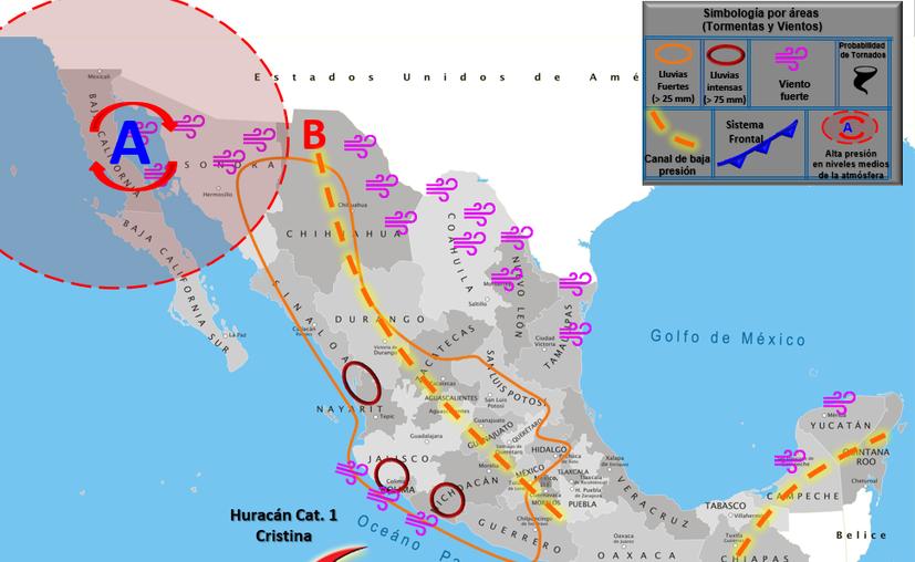 Clima Cancún Quintana Roo 8 de julio de 2020 (Conagua)