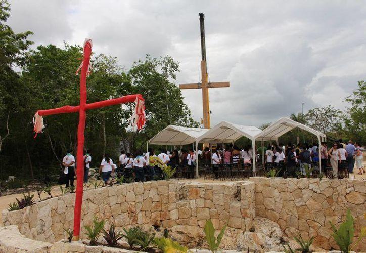 Esta parroquia se uniría a la Guadalupana en la Colosio, la San José en la Guadalupana y Nuestra Señora de Fátima, en el Ejido. (Octavio Martínez/SIPSE)