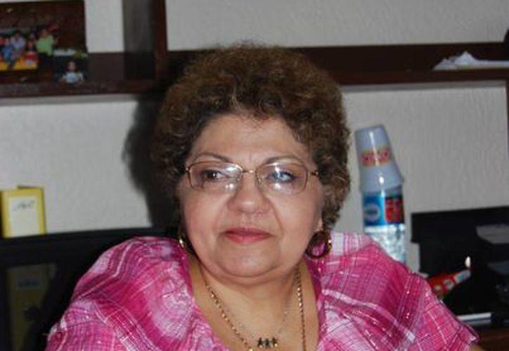 Latifa Muza afirma que es el momento para que el alcalde de Benito Juárez, Paul Carrillo de Cáceres, haga un alto y redireccionar las cosas en la administración. (Tomás Álvarez/SIPSE)