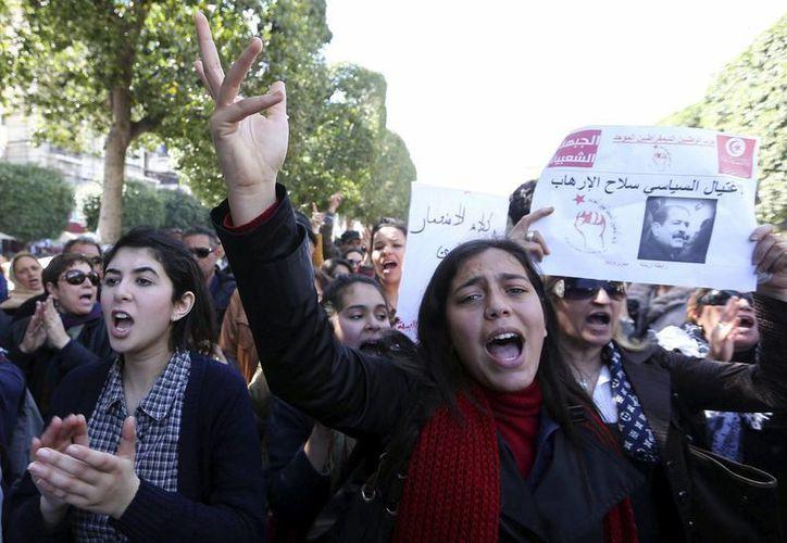 Amina pedía mayor libertad para las mujeres tunecinas. (Archivo/EFE)