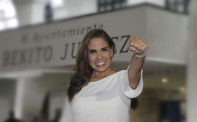 Mara Lezama logró una copiosa votación ciudadana en Benito Juárez. (Israel Leal/SIPSE)