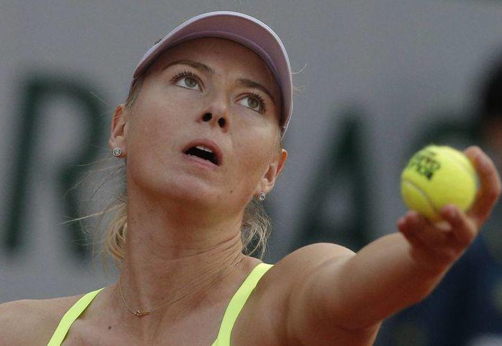 Sharapova ganó por parciales de 6-2 y 6-1 ante Su-Wei. (Agencias)