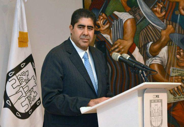 El titular de la Procuraduría General de Justicia capitalina, Edmundo Garrido Osorio. (Foto: Proceso)