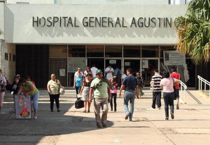 Sólo recibirán ingresos urgentes a un hospital general como el O' Horán. . (SIPSE)
