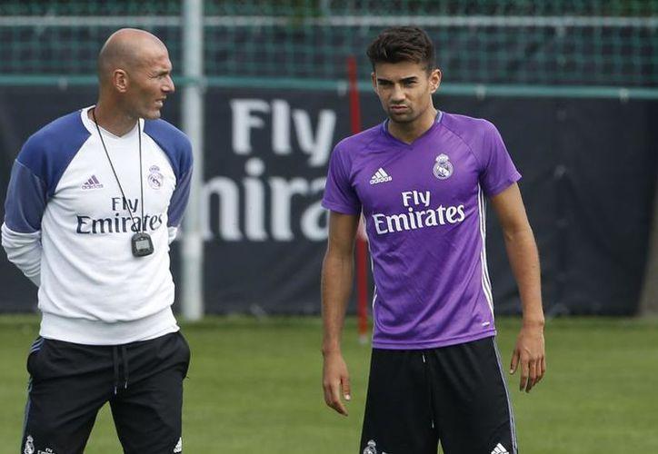 El primogénito de Zidane ha permanecido en la banca del Alavés. (Foto: Contexto/Internet).