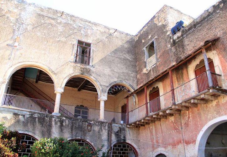 La casa del músico Ricardo Palmerín requirió trabajos de rehabilitación, está ubicada en Tekax. (Milenio Novedades)