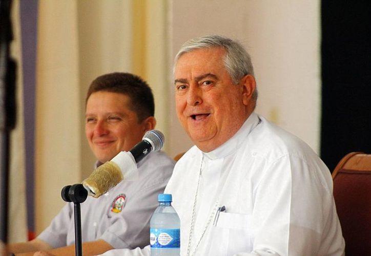 El Arzobispo Emérito propuso a Mérida para el Congreso Eucarístico en el 2016. Esta semana participará en la reunión que tendrán todos los obispos de México en Monterrey. (Milenio Novedades)