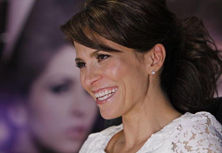 Alessandra Rosaldo luce radiante en el cuarto mes de embarazo de su primer hijo. (Agencias)