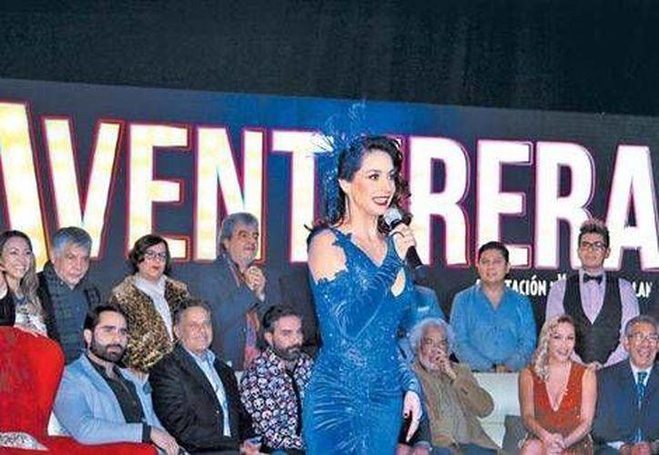 Susana González dará inicio al famoso musical, después se incorporarán Niurka Marcos, Itatí Cantoral y Ninel Conde(Foto de Milenio Digital)