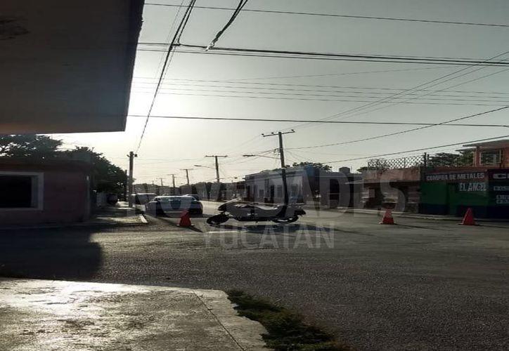 El hombre fue acuchillado dentro de su domicilio.(Foto: Novedades Yucatán)