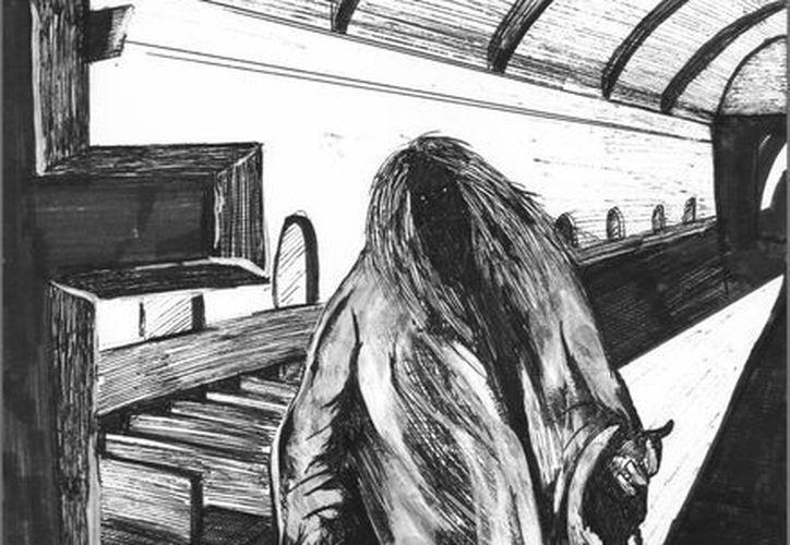Según los habitantes de la casa, el rostro del alma en pena de la joven era de color negro, y estaba vestida con una túnica. (Jorge Moreno/SIPSE)
