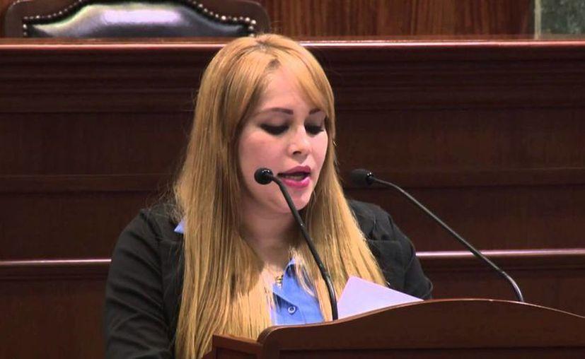 Lucero Guadalupe Sánchez López se asumió como militante desde 2011. (Captura de pantalla/YouTube)