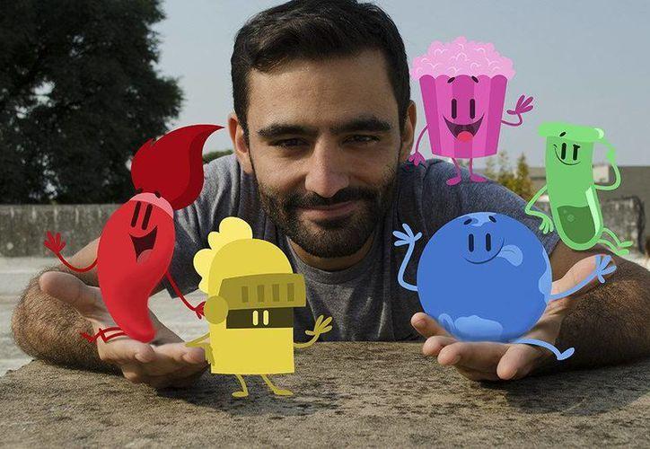 Máximo Cavazzani el creador de los exitosos juegos 'Preguntados' y 'Apalabrados'. (EFE)