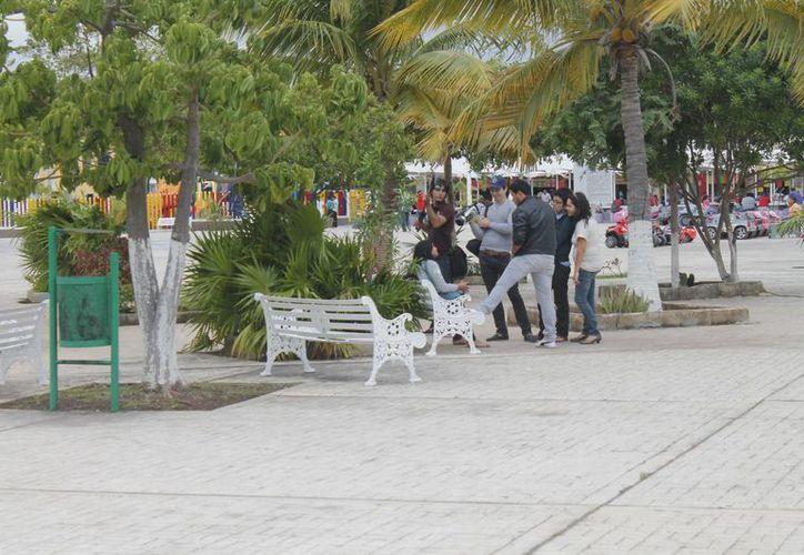 En la administración pasada 14 parques fueron seleccionados para el proyecto, sin embargo, éste nunca se concreto. (Israel Leal/SIPSE)
