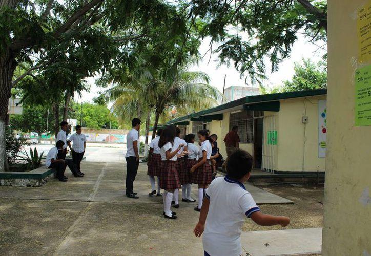 Proyecto para al construcción de aulas. (Sara Cauich/ SIPSE)