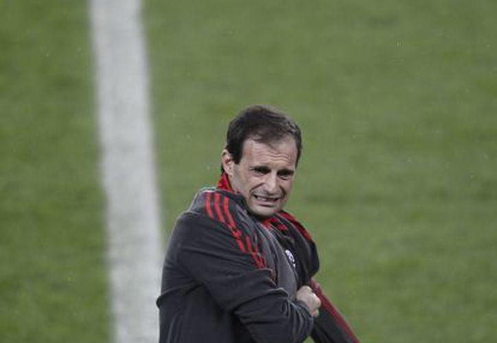 Allegri considera al Barsa el mejor club del mundo. (Agencias)