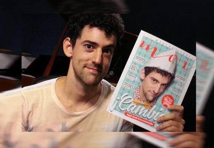 El actor anunció que la revista con su entrevista ya se encuentra a la venta. (Marthadebayle.com/Milenio)