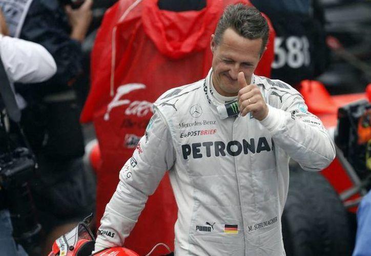 Schumacher ha sido siete veces campeón de la F1. (Archivo/Agencias)