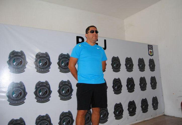 Carlos Trigos Perdomo fue capturado acusado de desviar recursos del Ayuntamiento de Benito Juárez. (Redacción/SIPSE)