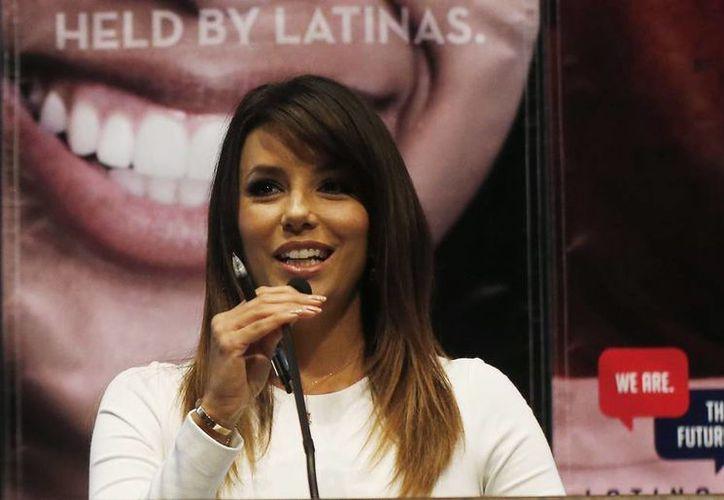 La actriz Eva Longoria atribuye a la escasa participación latina en las elecciones que el Congreso tenga 28 hispanos entre los 435 miembros de la Cámara Baja de Estados Unidos. (AP)