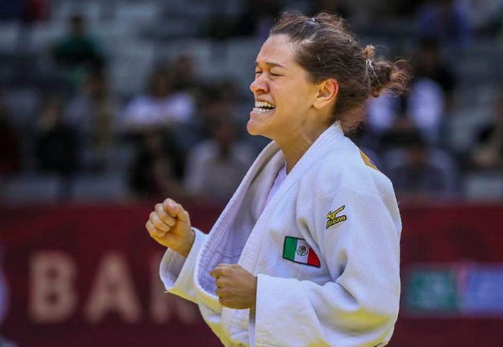 La campeona de los Juegos de Río 2016 conquistó el primer sitio de la categoría de -70 kilogramos. (Foto: Conade)