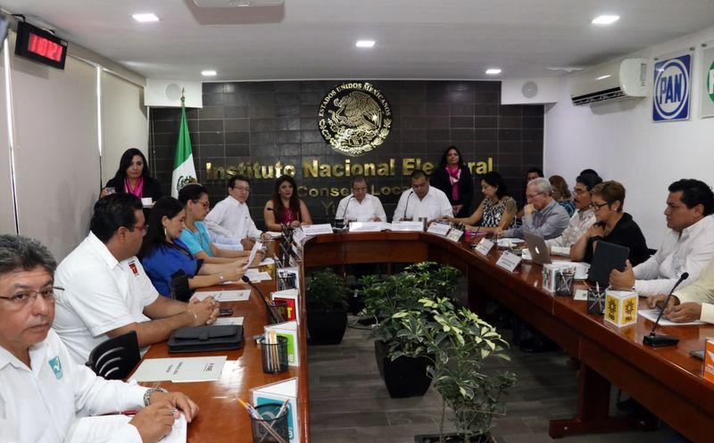 El INE calificó de exitosa la jornada electoral que se vivió en la entidad. (Daniel Sandoval/ Milenio Novedades)