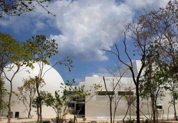 El planetario de Cozumel se encuentra en la fase final de su construcción. (Redacción/SIPSE)
