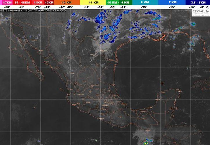Los vientos serán de 15 a 25 kilómetros por hora en Playa del Carmen. (Conagua)