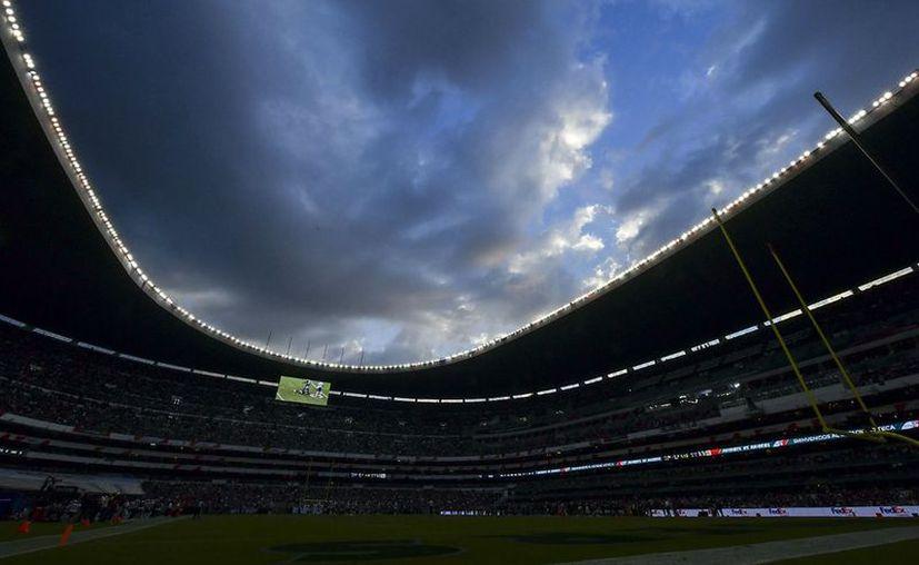 El partido de la NFL programado para el próximo lunes 19 de noviembre fue cancelado por las malas condiciones del Estadio Azteca. (Imago7)