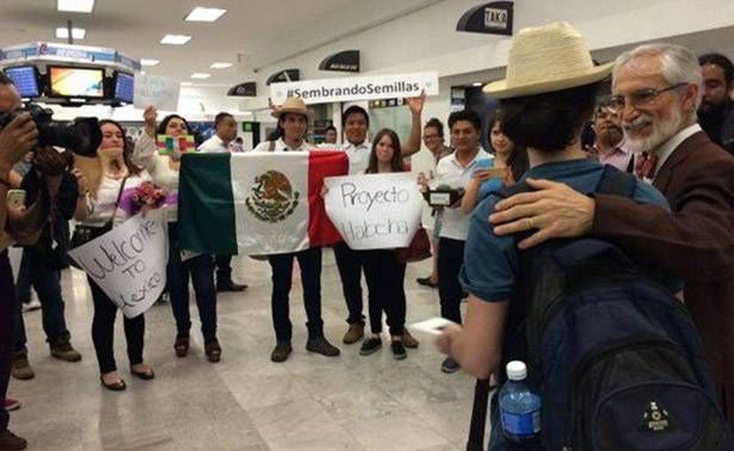 Samah Habulhamid fue recibida con mucha alegría por el Proyecto Habesha en México. (Agencias)