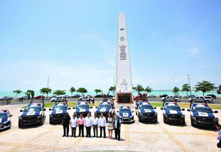 Mañana viernes entregarán 25 patrullas más a los municipios Zona Norte. (Cortesía/SIPSE)