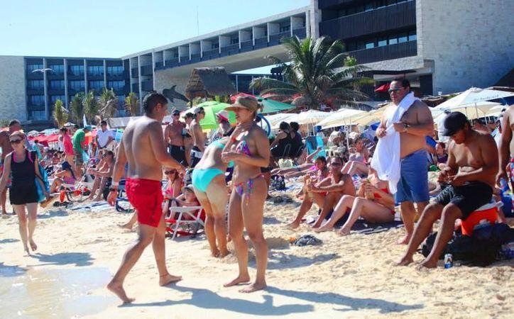 Playa del Carmen se ubica entre los principales destinos que liderarán los crecimientos de ocupación hotelera en el país. (Foto: Contexto/SIPSE)