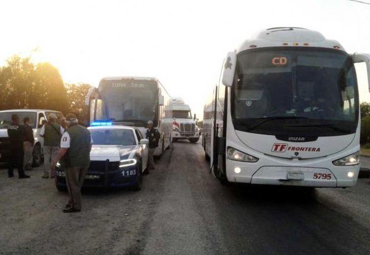 Los migrantes serán trasladados a Matamoros para ser atendidos. (Excélsior)