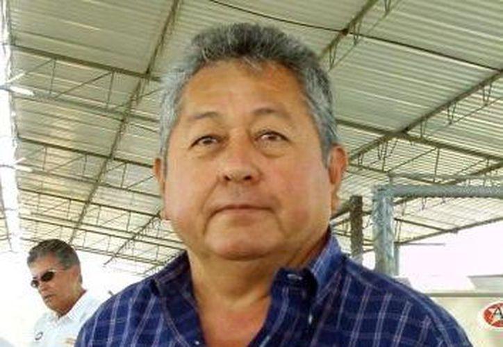 Presidente de la Asociación de Porcicultores de Yucatán, Carlos Ramayo Navarrete. (Milenio Novedades)