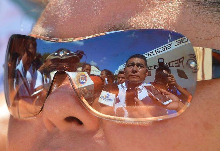 El nuevo director de la cárcel de Cozumel es Higinio Sánchez Baltazar. (Gustavo Villegas/SIPSE)