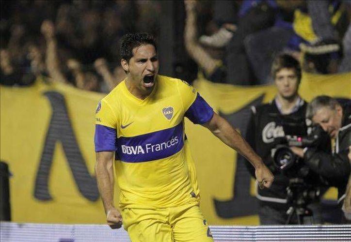 Juan Insaurraulde (foto) y Jonathan Silva llegaron a los golpes, luego de una discusión durante los entrenamientos del Boca Juniors. (Foto tomada de Mediotiempo)