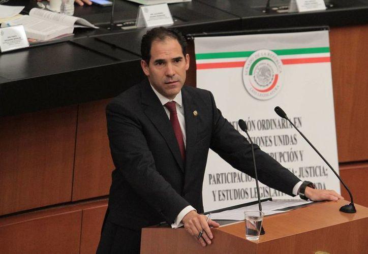 El senador del Partido Verde Ecologista de México, Pablo Escudero, presidirá la Mesa Directiva del Senado de la República durante seis meses. (Archivo/Notimex)