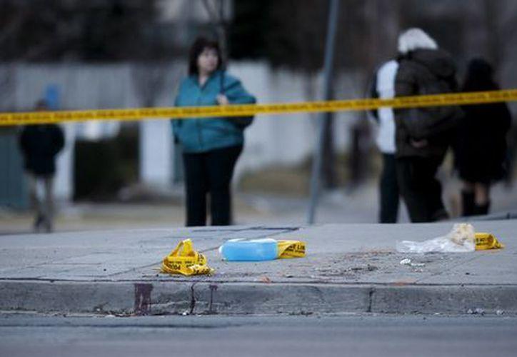 El atropello masivo se produjo ayer, cuando una furgoneta alquilada arrolló a decenas de personas. (AP)