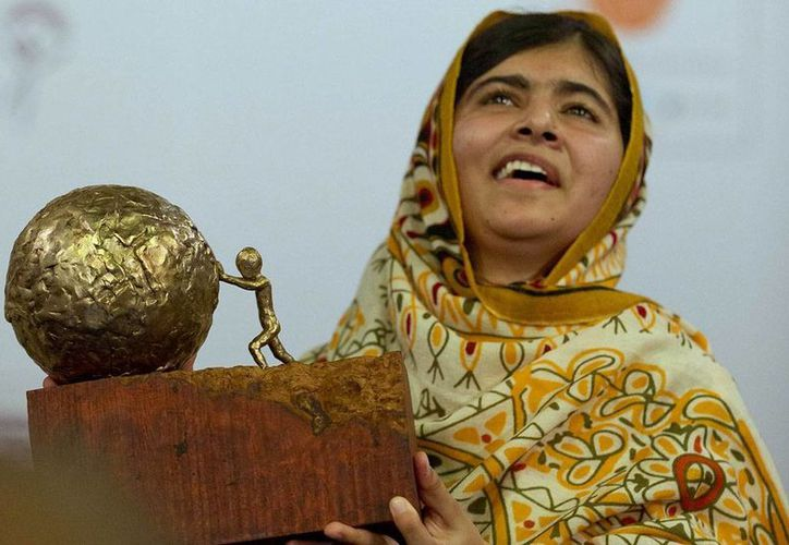 Malala figura entre las 10 mujeres más influyentes del mundo, según la revista Time. (Agencias)