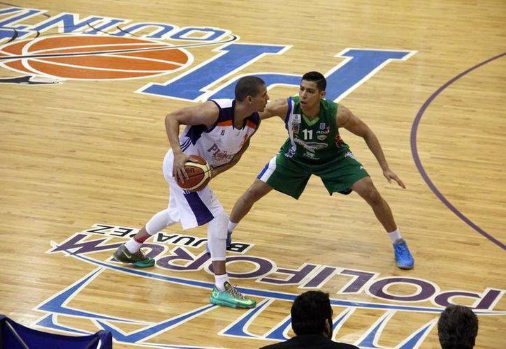 El equipo caribeño se impuso a su rival con un 77-72. (Ángel Mazariego/SIPSE)