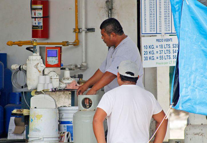 De ocurrir una baja, sería de apenas unos centavos, consideró la Asociación de Distribuidores de Gas LP. (Ivett Ycos/SIPSE)