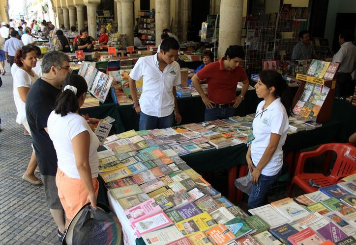 Textos publicados por editoriales yucatecas tienen poca demanda en el Estado. (Milenio Novedades)