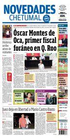 Óscar Montes de Oca, primer fiscal foráneo en Q. Roo