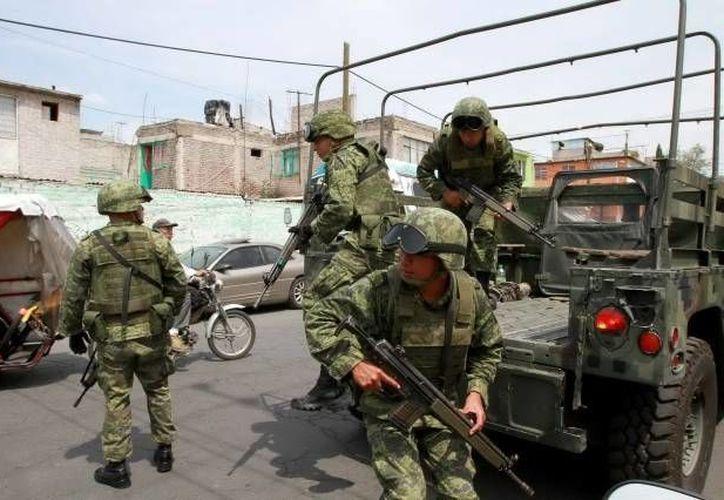 Continúan en Sinaloa los operativos antinarco del Ejército, y en particular de la Marina. (Agencias/Contexto)