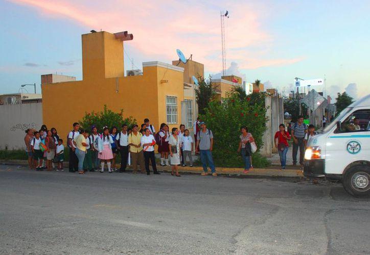 En diciembre comenzará a operar el servicio de transporte interno en Villas del Sol. (Daniel Pacheco/SIPSE)
