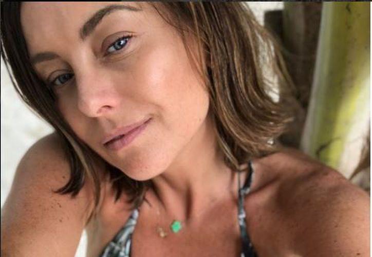 Dominika posó con un atrevido traje de baño en las playas de Tulum y en Cobá. (Foto: Instagram)